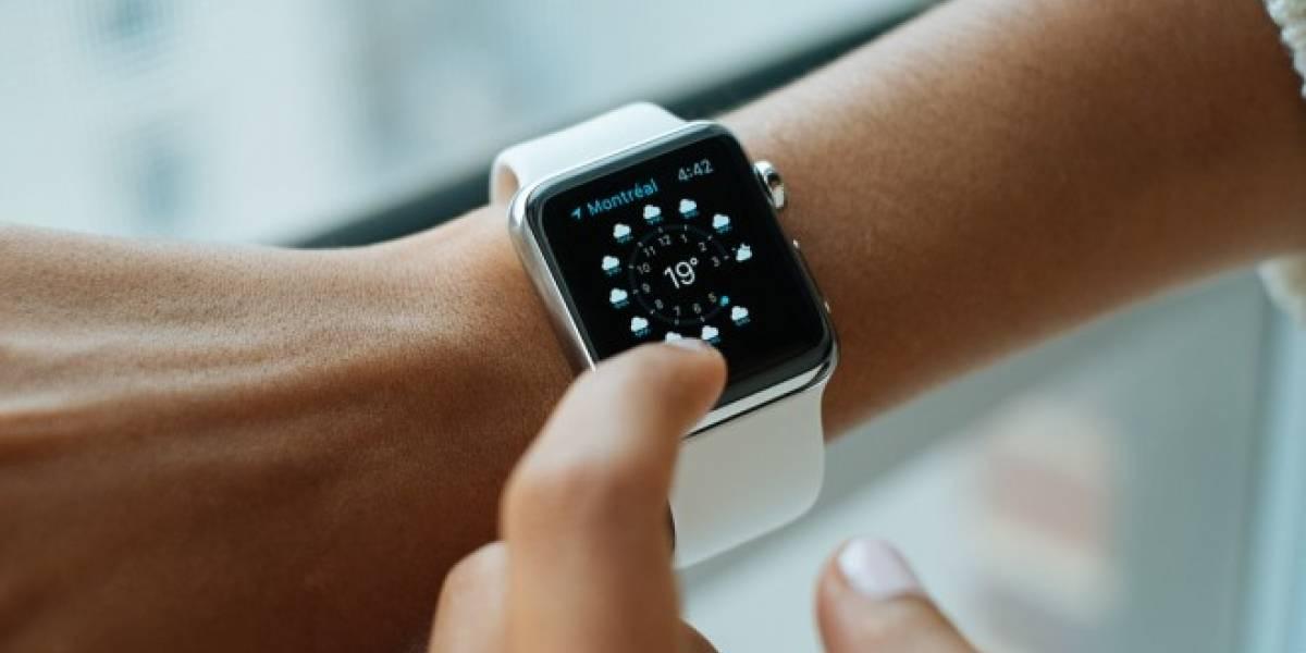 Patentes dan cuenta de una cámara para el Apple Watch