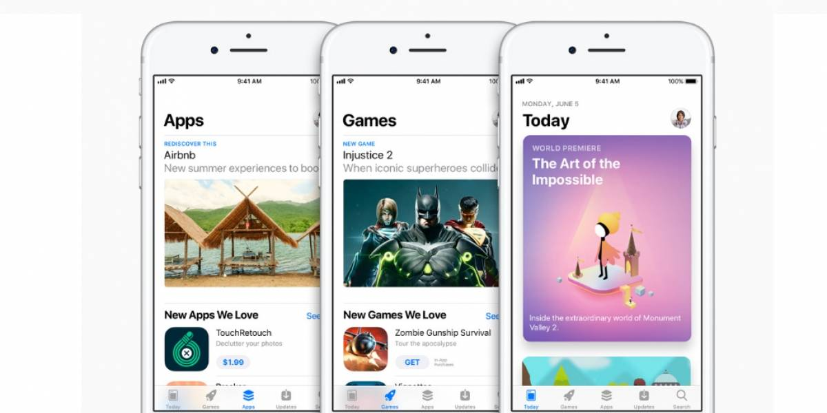 Apple cambia completamente la interfaz de su App Store #WWDC17