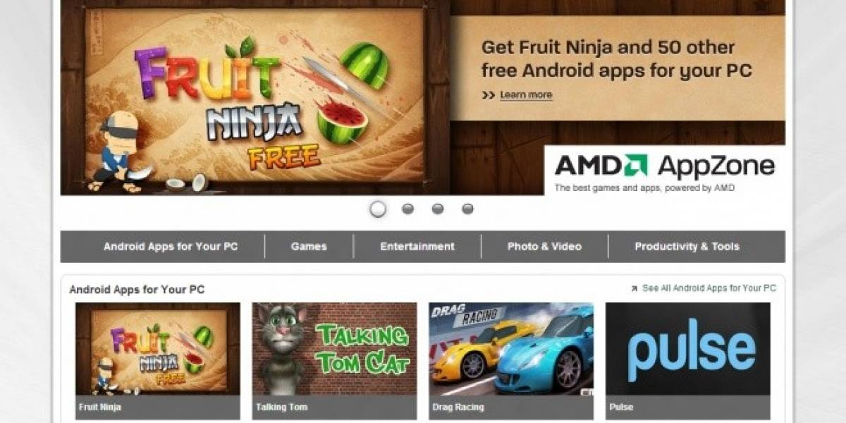 AMD y BlueStacks llevan las aplicaciones de Android a Windows con AppZone