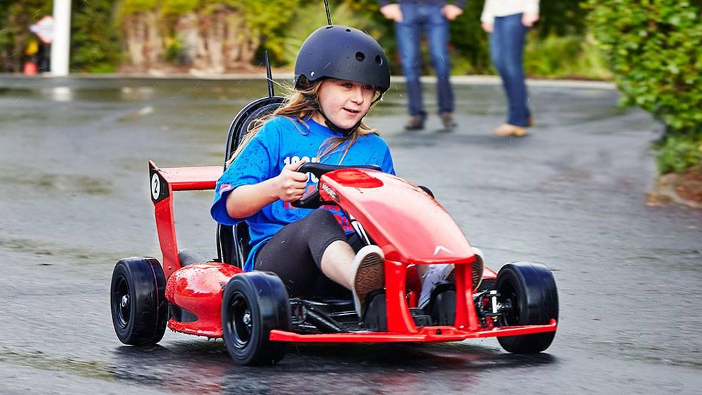Así corre Arrow, el primer go-kart inteligente para niños