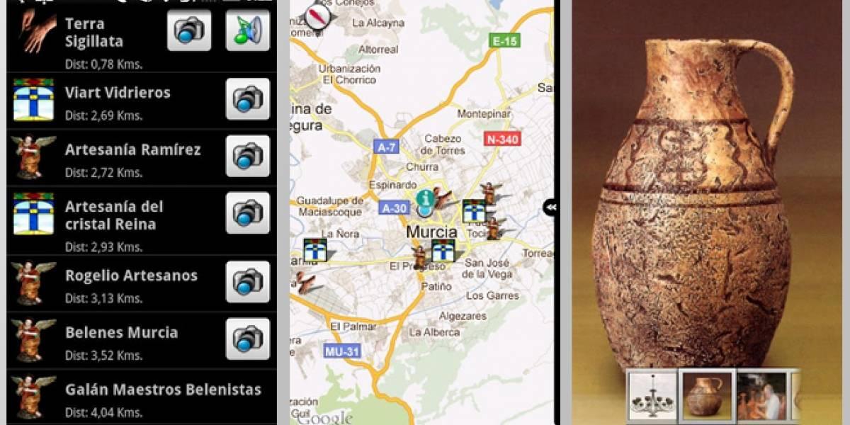 """Renovarse es importante: """"Artesanos de aquí"""", una aplicación de los artesanos de Murcia"""