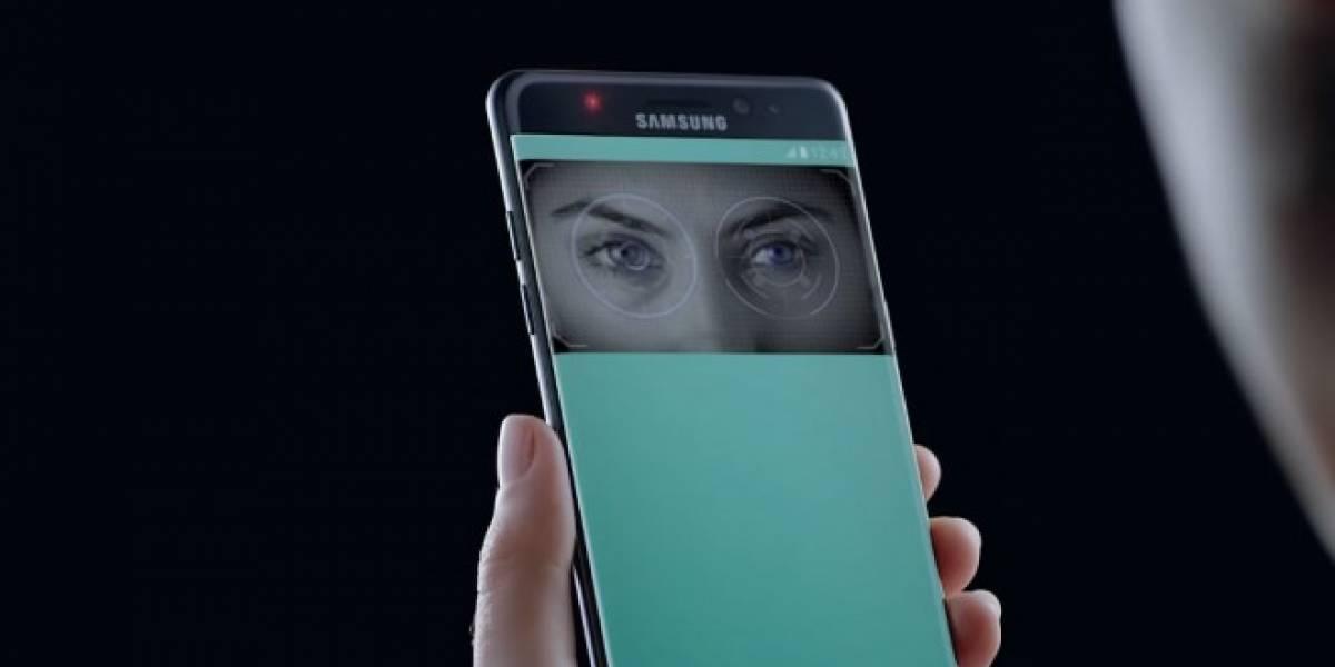 Así funciona el escáner de iris en el Galaxy Note 7