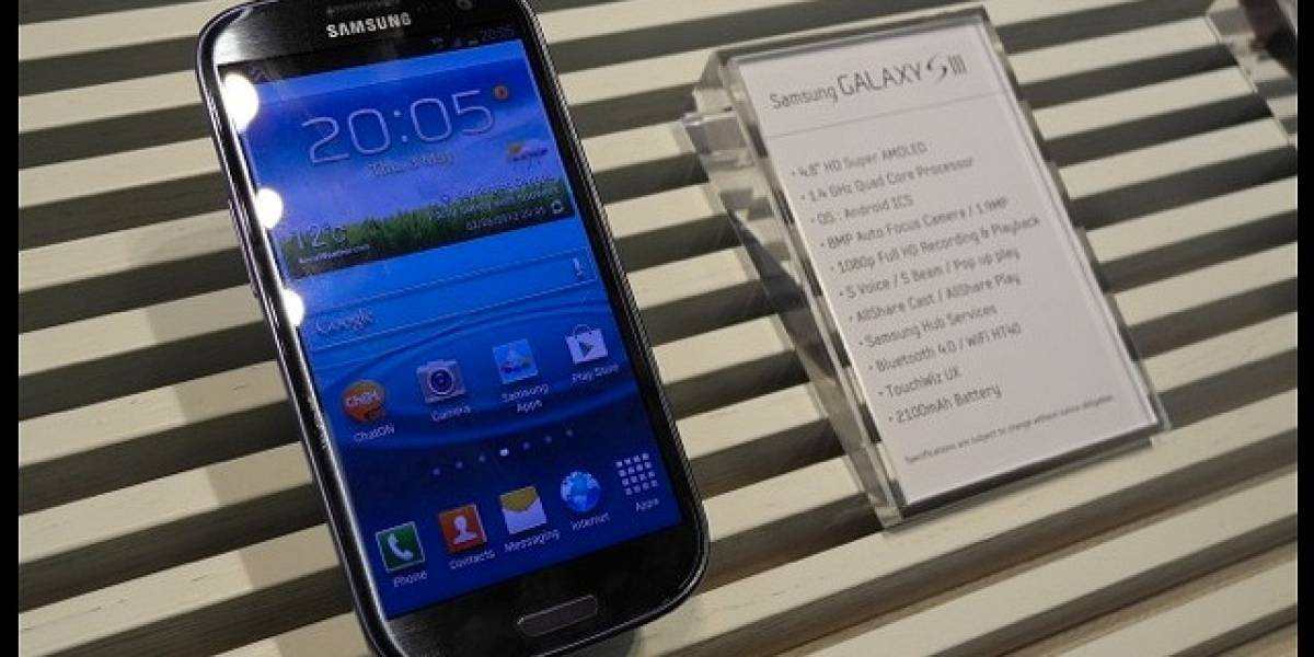 Samsung Galaxy S III en fotos y video