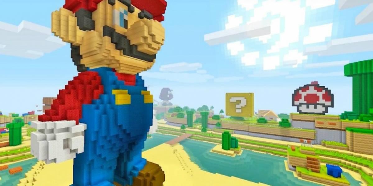 Videos de Super Mario en Minecraft están siendo denunciados por copyright
