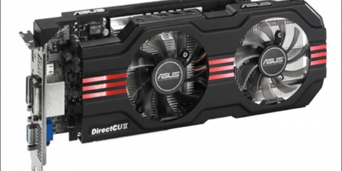 Tarjeta de video ASUS GeForce GTX650Ti DirectCU II TOP a prueba