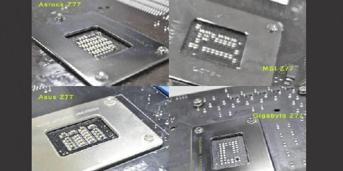 ASUS: Gigabyte no cumple con las especificaciones de energía de Intel
