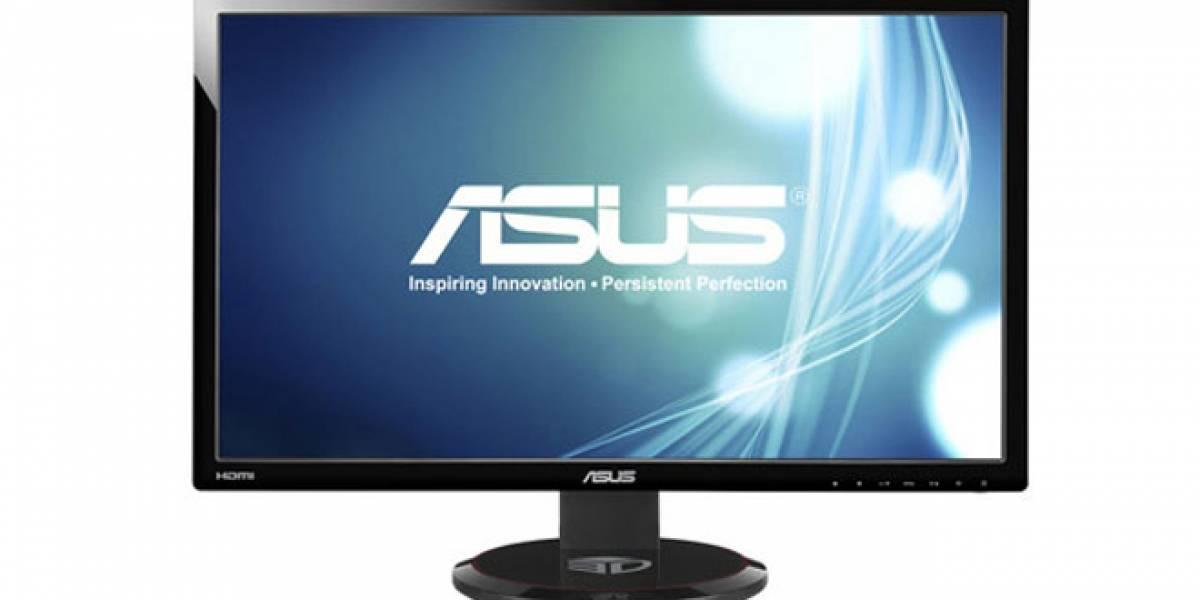 ASUS estrena el primer monitor para PC con tasa de refresco superior a 120Hz