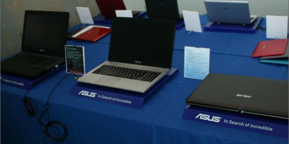 CES 2012: Asus muestra notebooks con Ivy Bridge y Kepler
