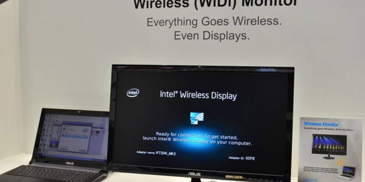 CTX2012: Monitor ASUS WiDi, lo más nuevo en pantallas