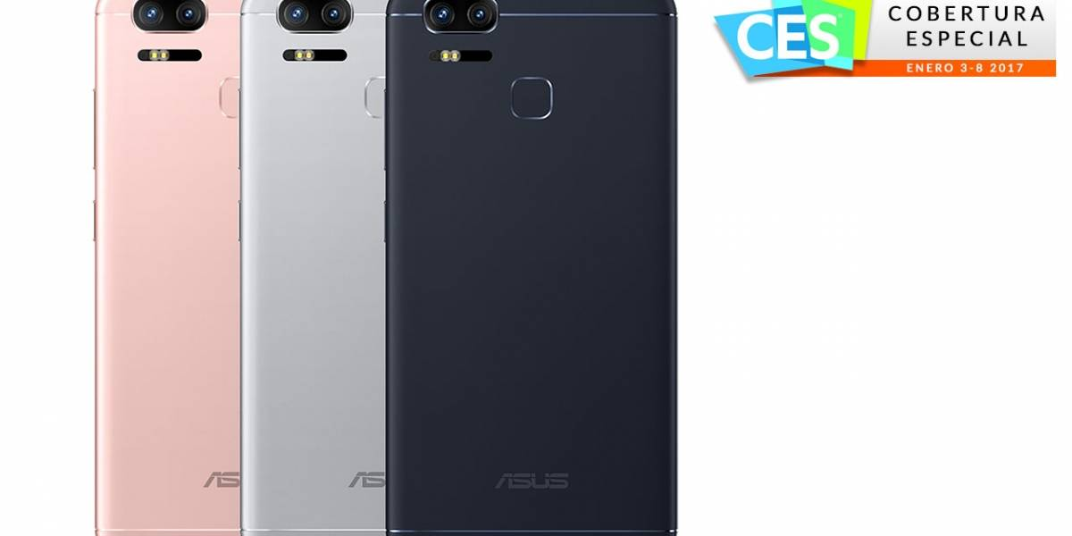 ASUS anuncia el ZenFone 3 Zoom #CES2017