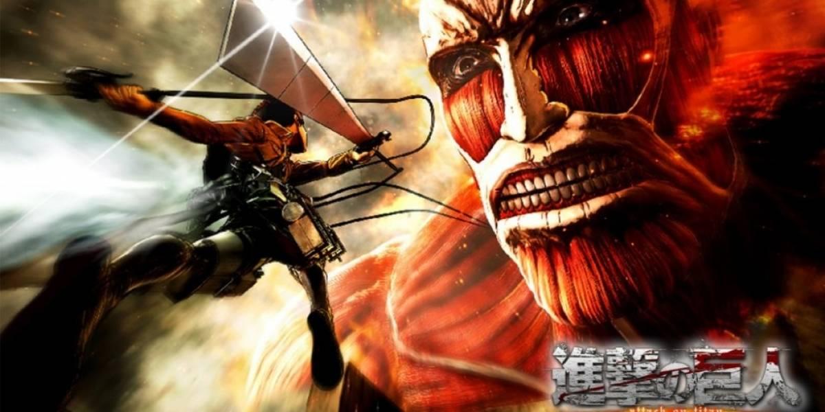 Attack on Titan ya tiene fecha de lanzamiento en occidente