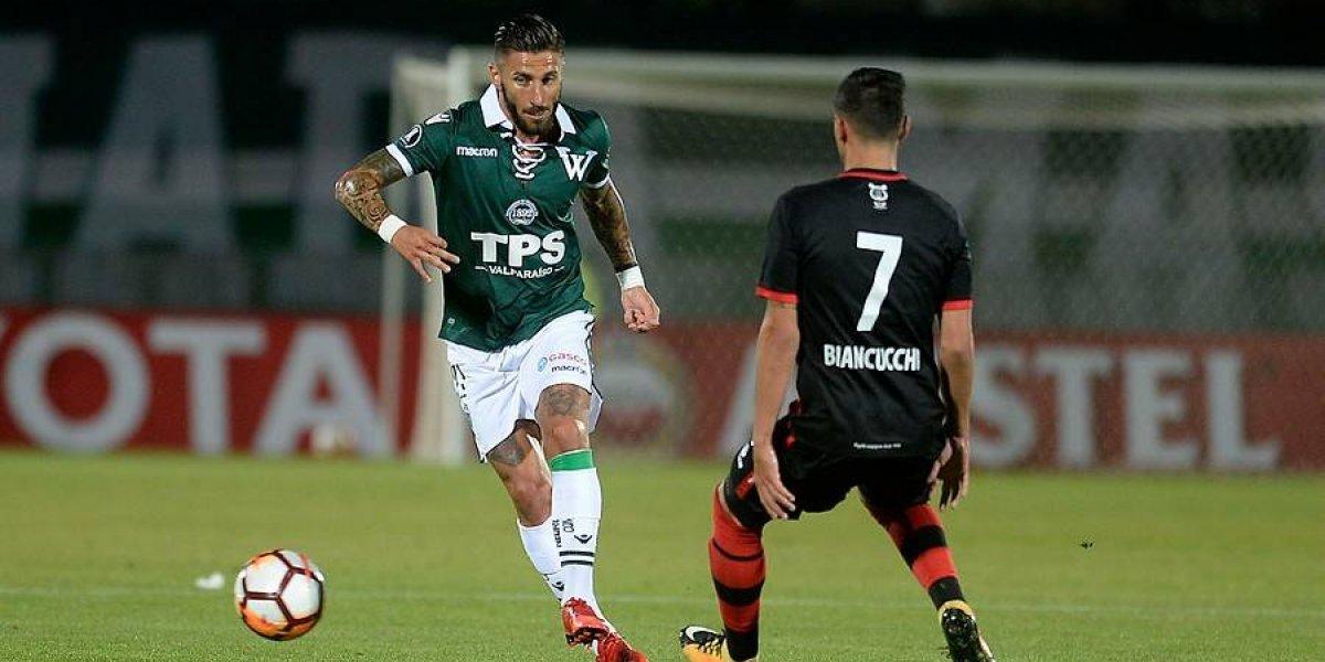 Wanderers igualó ante Melgar en Valparaíso por la Libertadores 2018