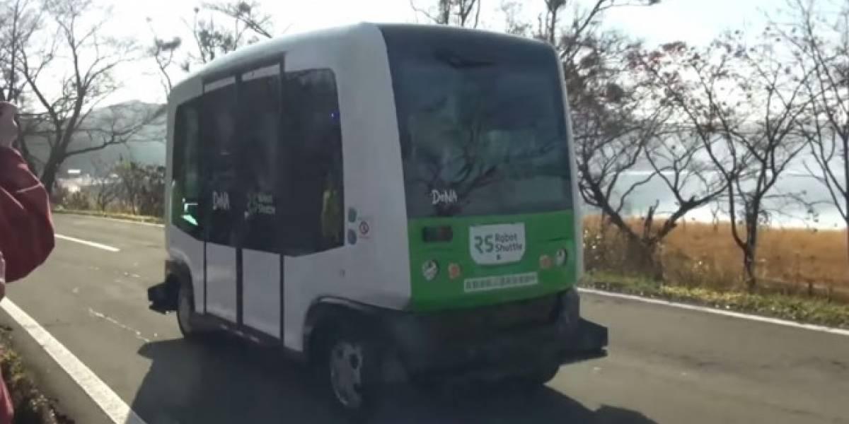 DeNA prueba con éxito su primer autobús autónomo