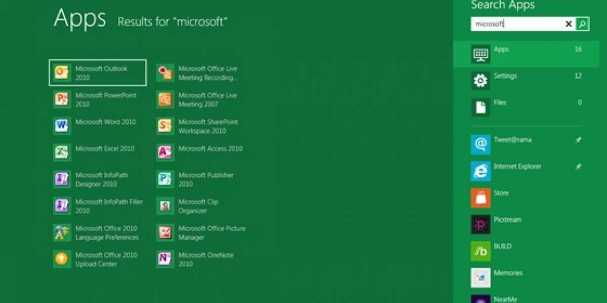 Microsoft ahora nos habla sobre el mejorado sistema de búsqueda en Windows 8