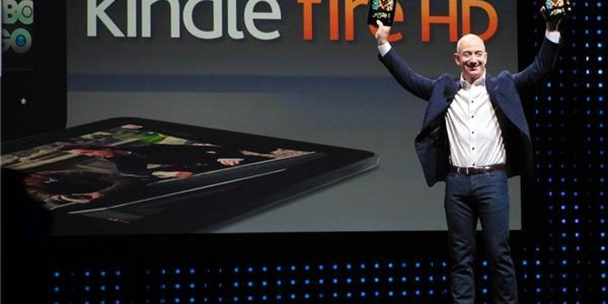 Amazon renueva su Kindle Fire original y lanza un Fire HD de 8.9 pulgadas