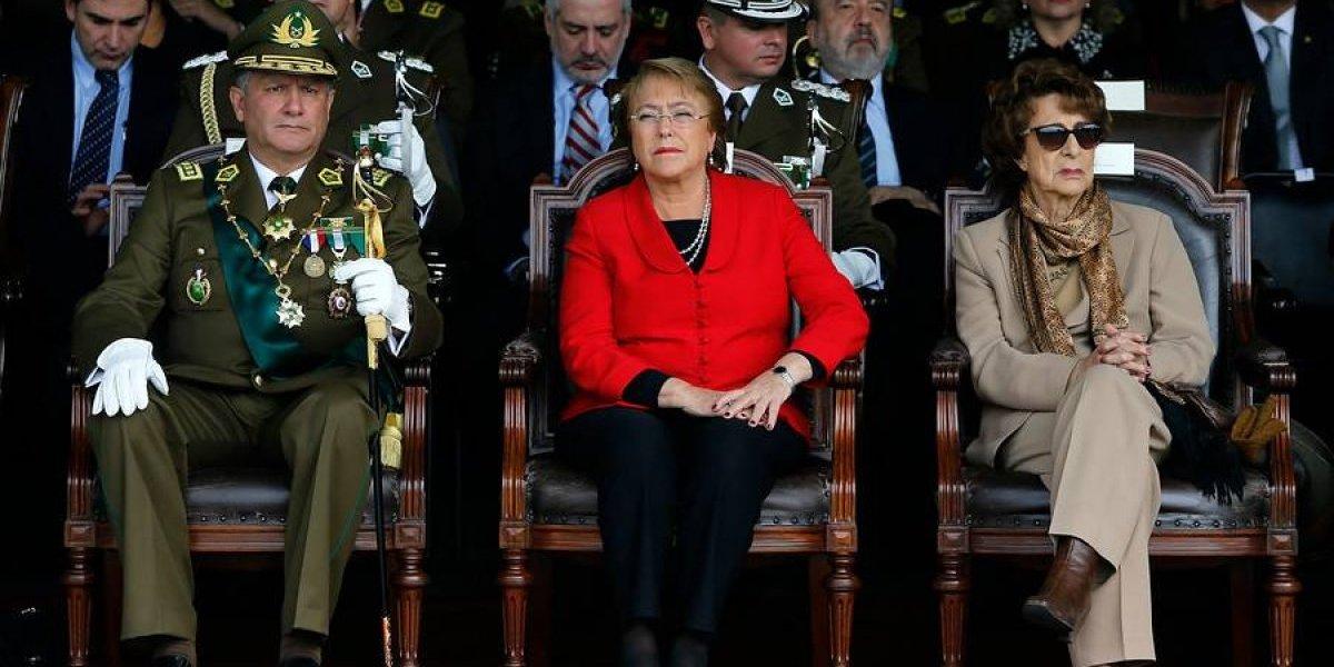 Bachelet directo al ojo del huracán: visita La Araucanía justo en medio del conflicto entre Fiscalía y Carabineros