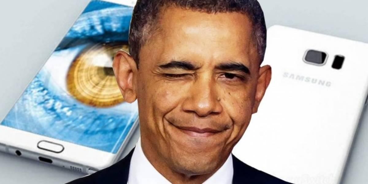 Obama hace broma sobre el Galaxy Note 7 y justifica a Samsung