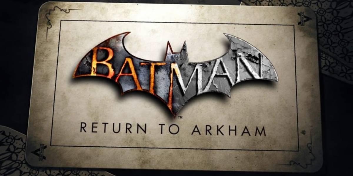 Primer tráiler y detalles revelados en torno a Batman: Return to Arkham
