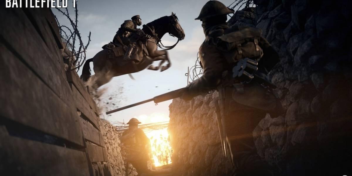 Battlefield 1 estrena tráiler de jugabilidad #E32016