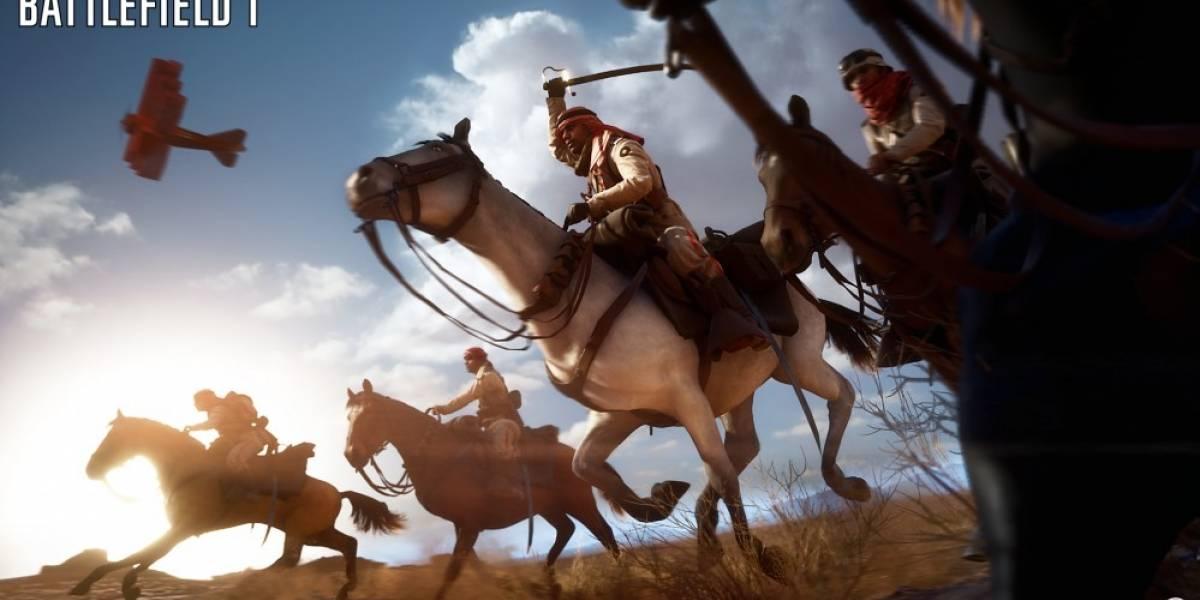Mira 12 minutos de jugabilidad de Battlefield 1