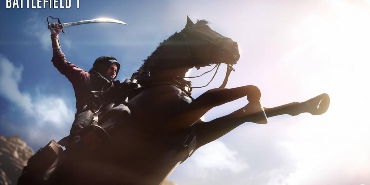 Publican adelanto del nuevo tráiler de Battlefield 1