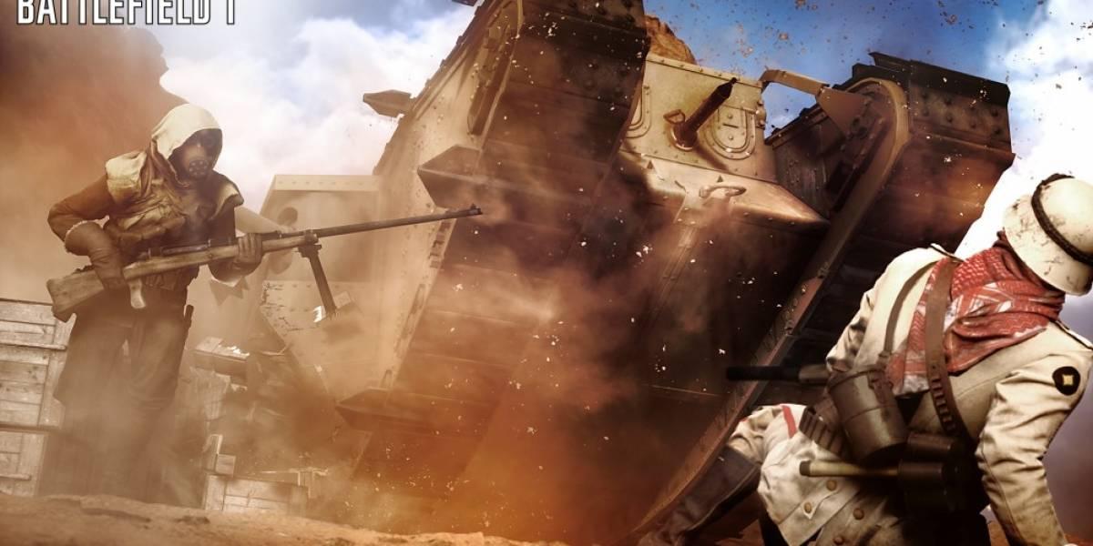 DICE revela detalles sobre el mapa Desierto de Sinaí de Battlefield 1