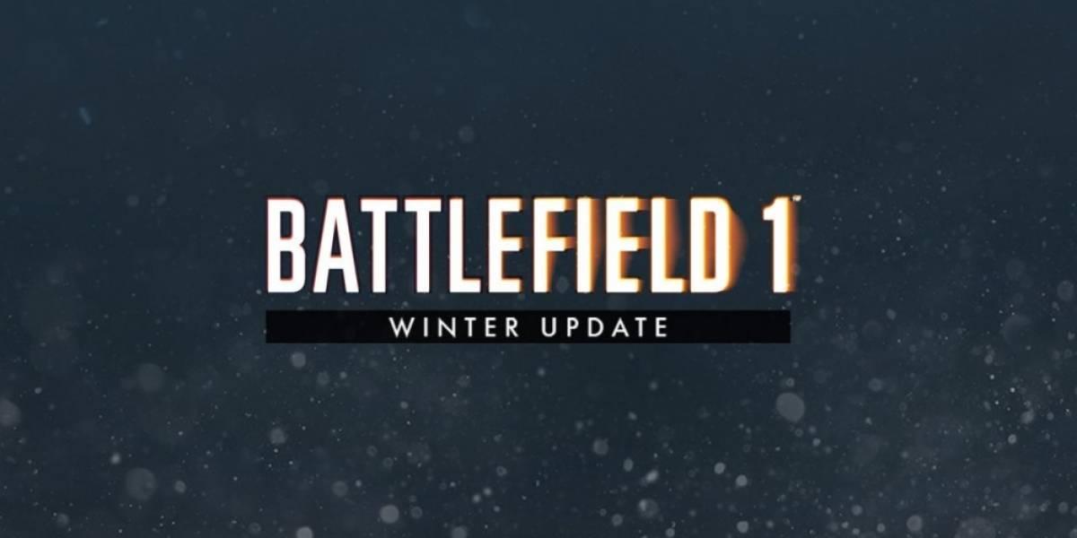 Ya está disponible la actualización de Invierno de Battlefield 1