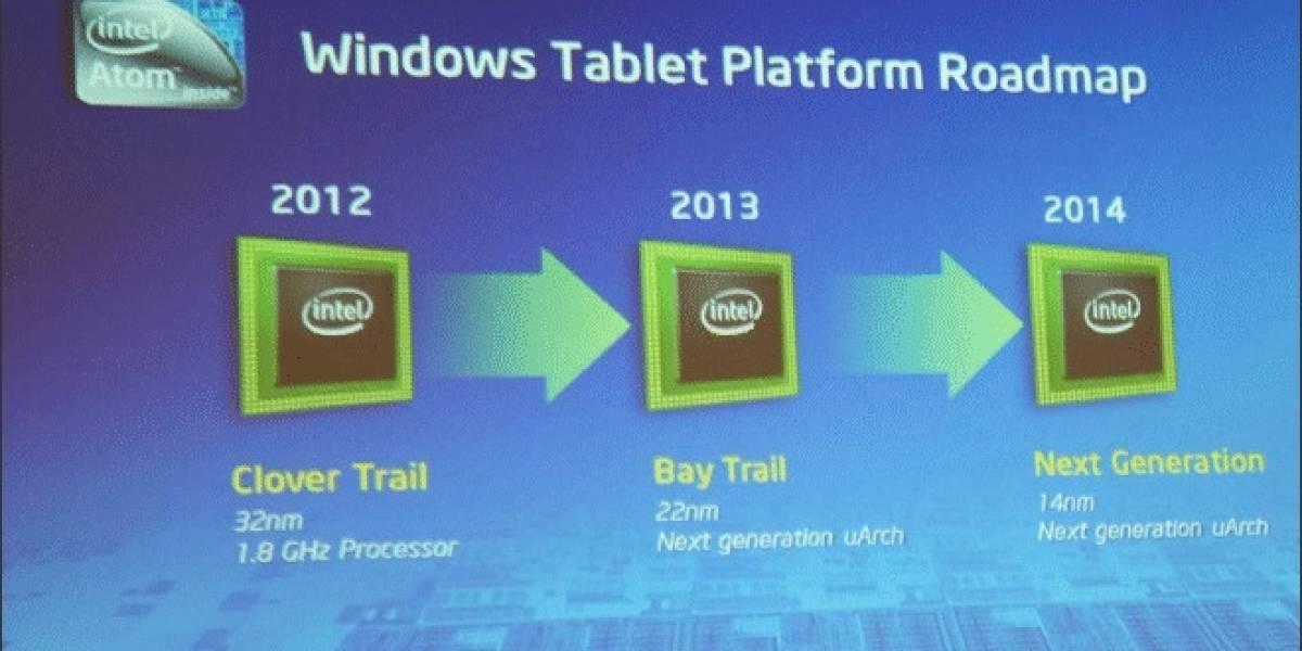 """Futurología: Atom a 22nm """"Bay Trail"""" para tablets hará su aparición a fines del próximo año"""