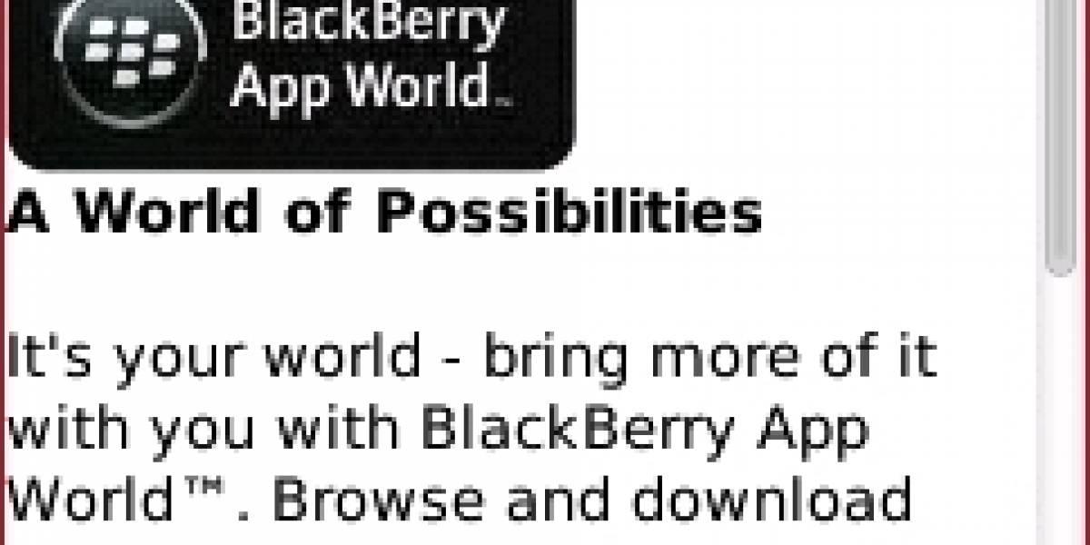Ya se puede acceder a la tienda de aplicaciones de BlackBerry