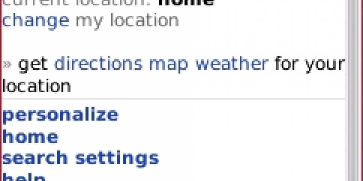 Bing para dispositivos móviles