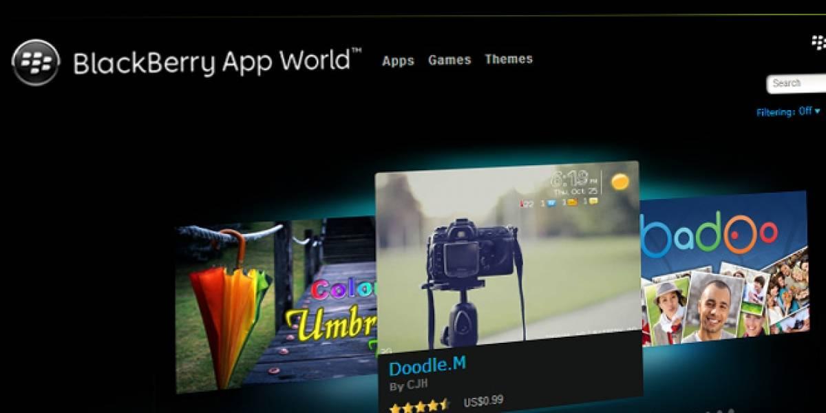 "BlackBerry App World ahora será solo ""BlackBerry World"" e incluirá música y videos"