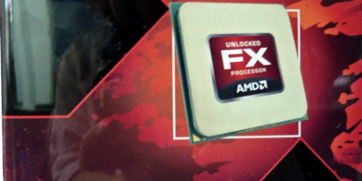 Imágenes de la versión retail del CPU AMD FX-8150