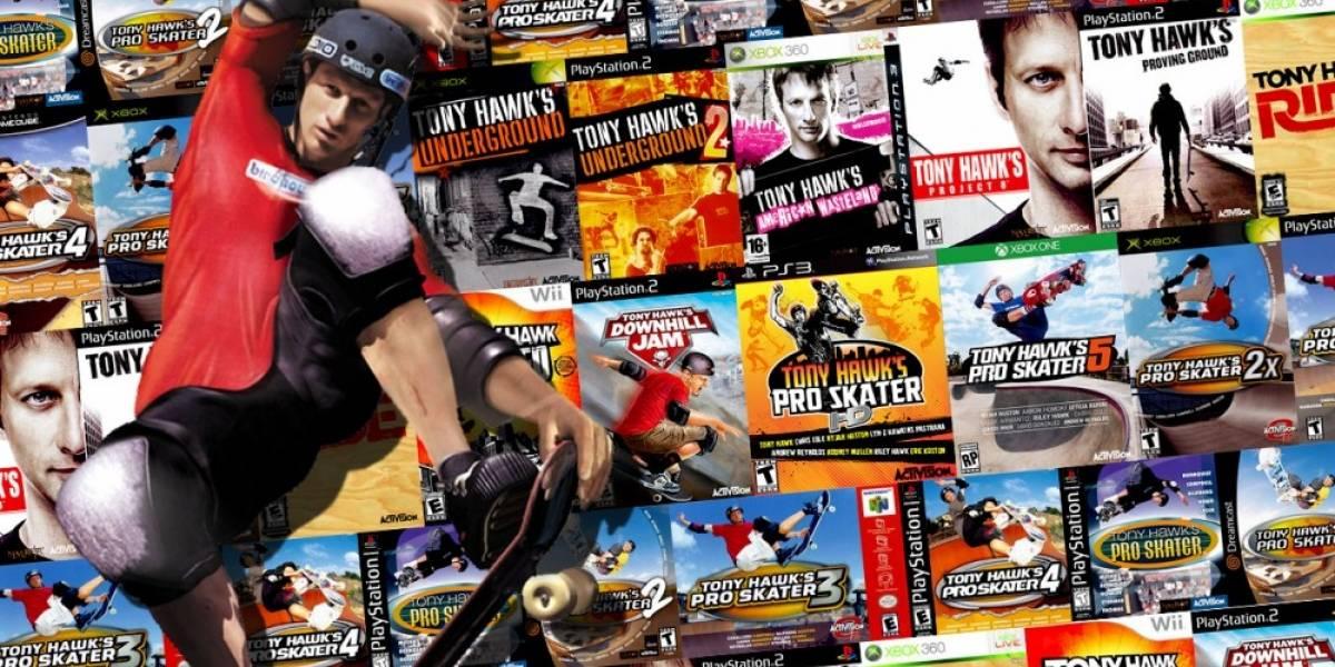 Este documental quiere contar el ascenso y la caída de los juegos de Tony Hawk