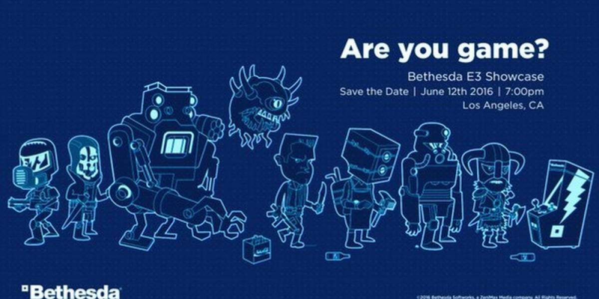 Bethesda anuncia la fecha para su conferencia en E3 2016