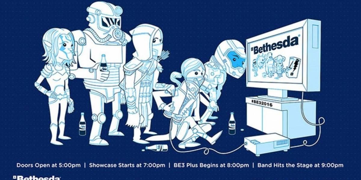Mira en vivo la conferencia de Bethesda #E32016