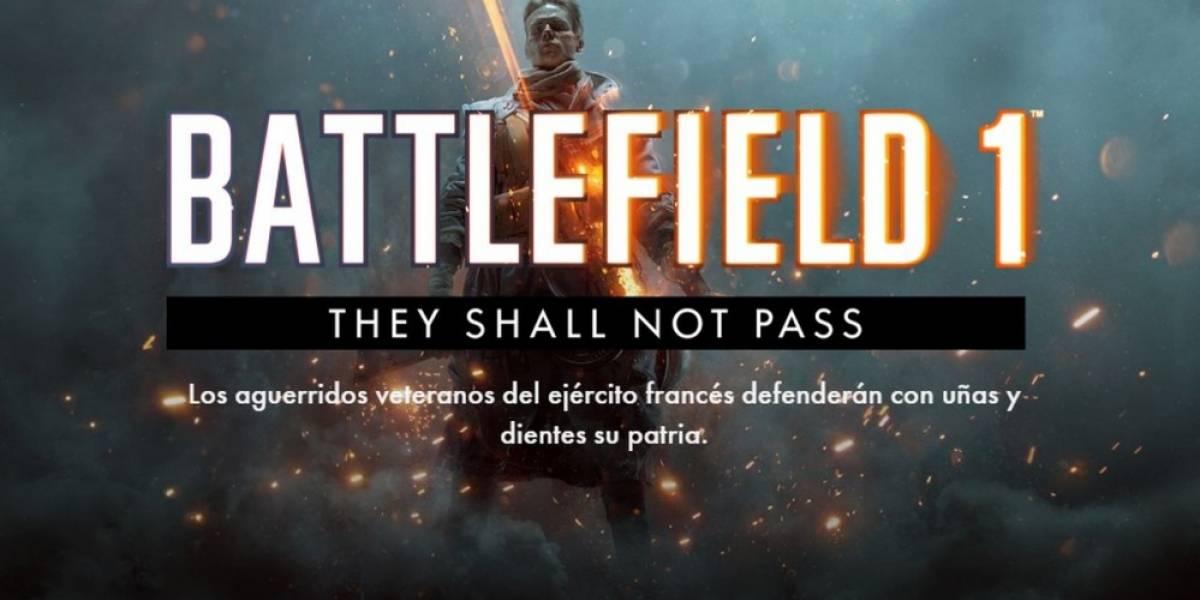 DICE revela detalles de la primera expansión para Battlefield 1
