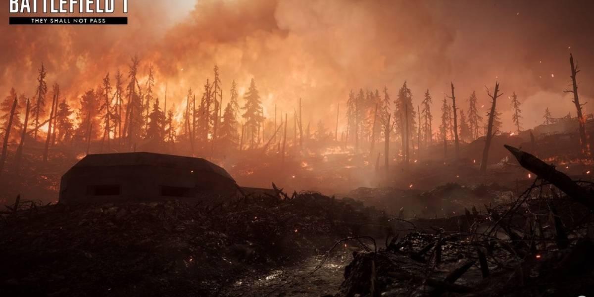 Un vistazo a Verdun Heights, uno de los nuevos mapas de Battlefield 1