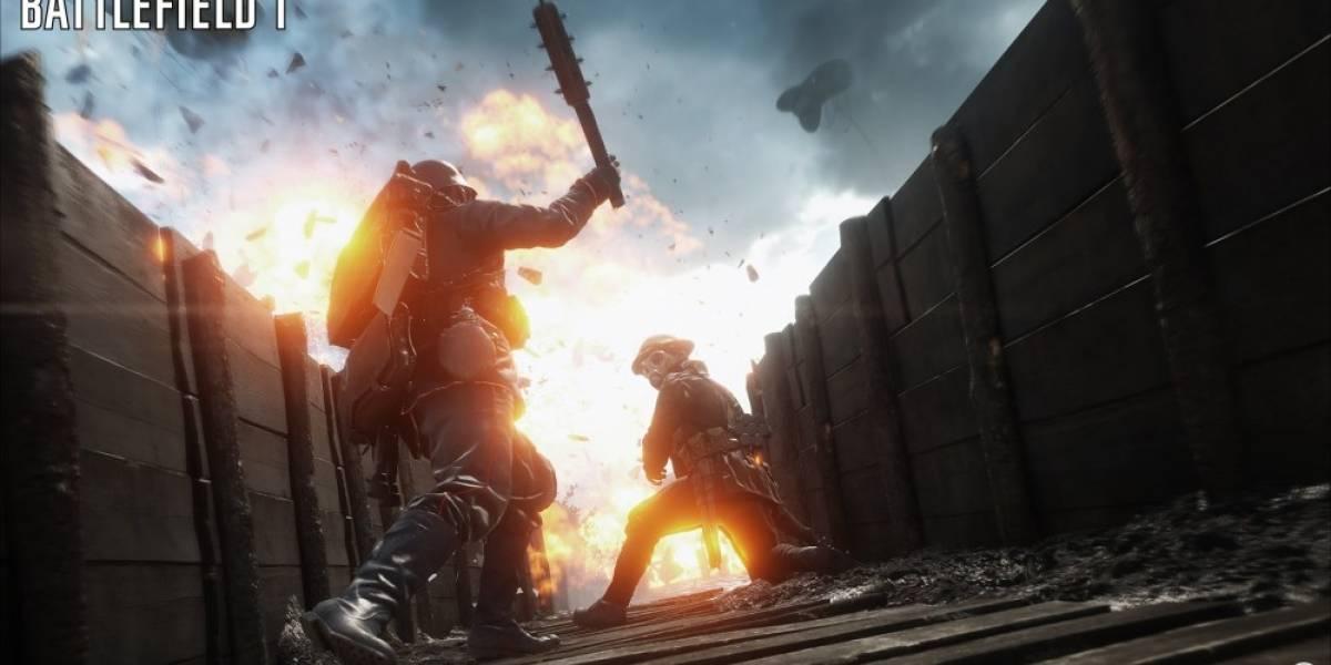 Conozcan las armas de Battlefield 1