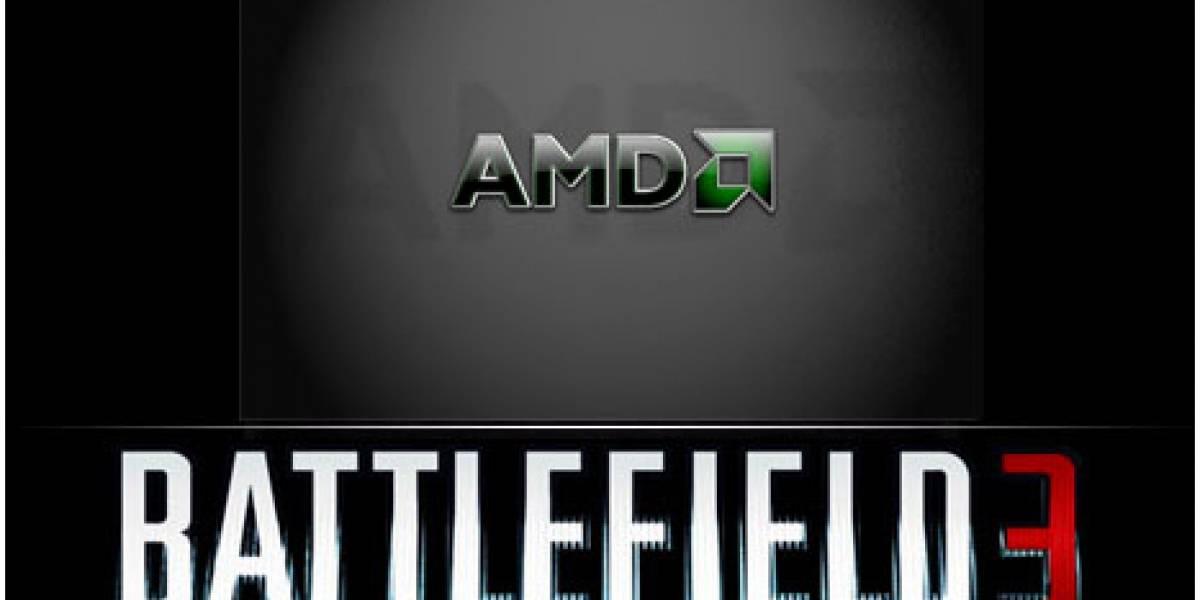 AMD regalará Battlefield 3 por la compra de una Radeon HD 6000