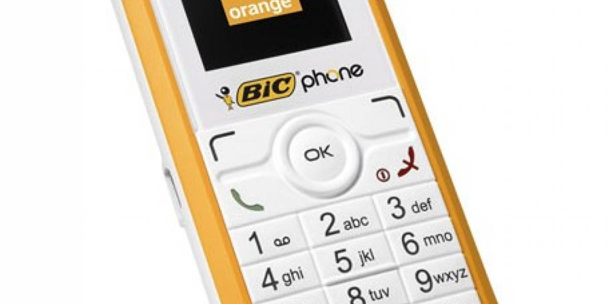 Bic Phone: Móvil desechable ya a la venta