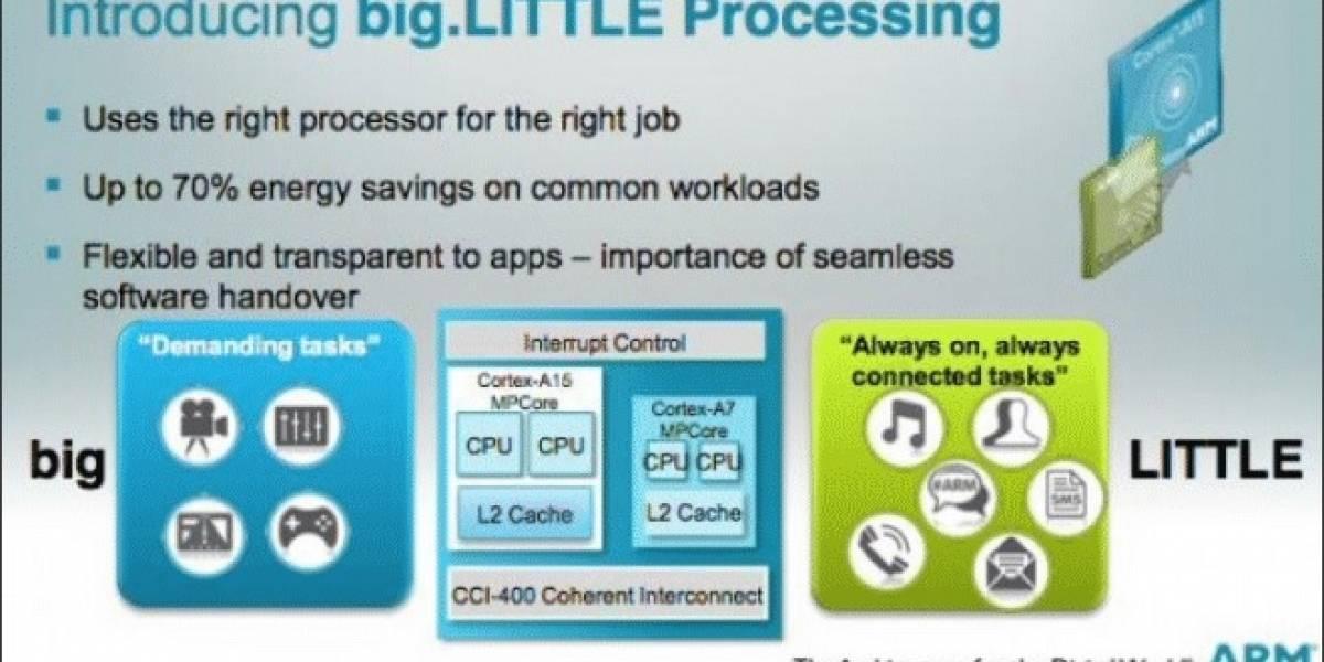 Intel se muestra interesado en la arquitectura big.LITTLE de ARM