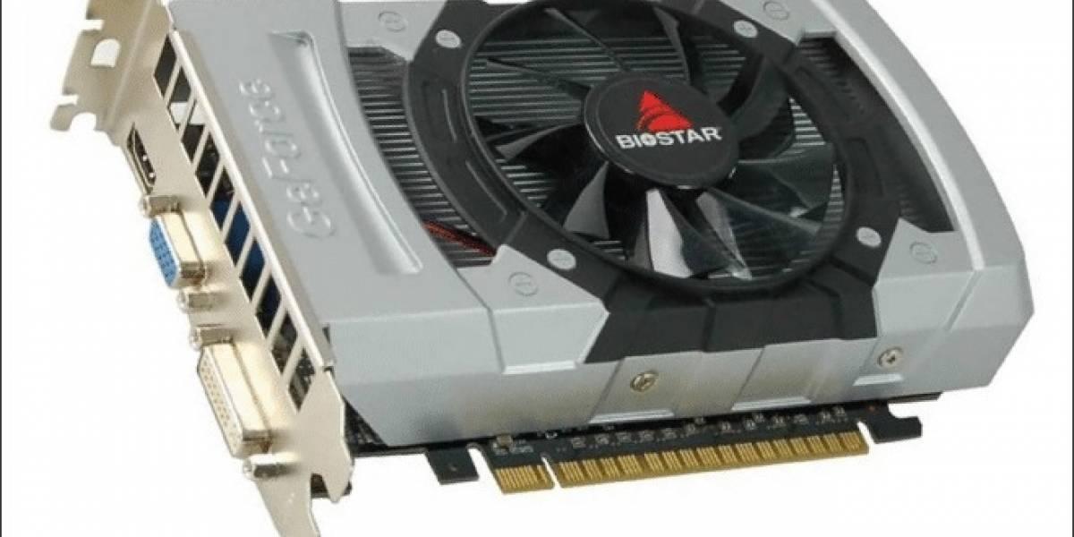 BioStar lanza sus nuevas tarjetas de video GeForce GT 640
