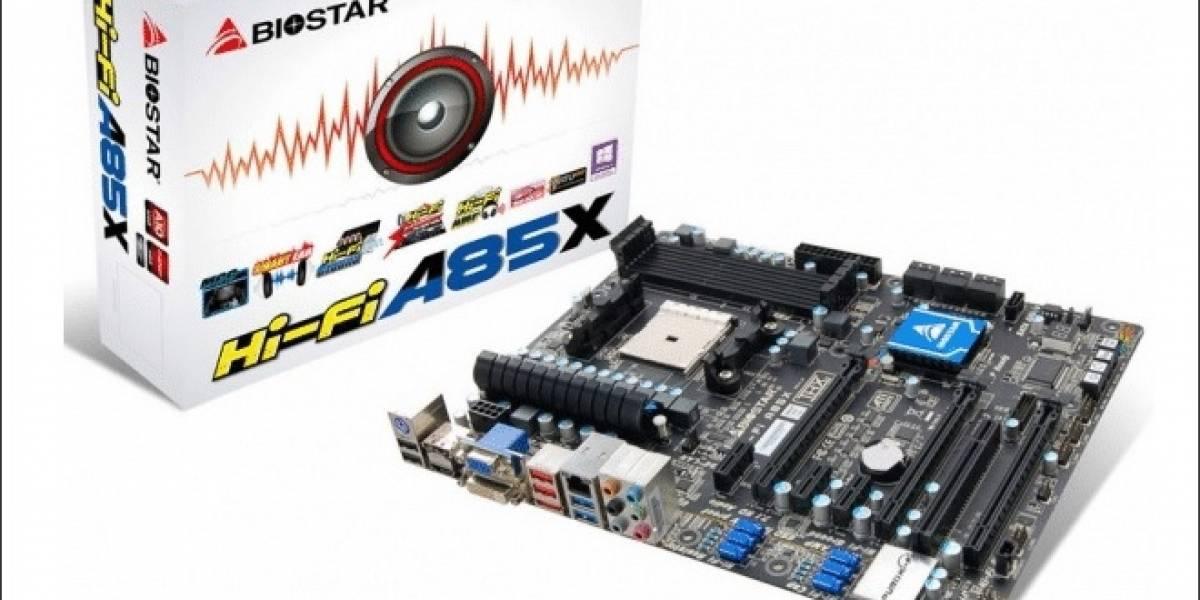 BIOSTAR anuncia dos nuevas tarjetas madre Hi-Fi socket FM2
