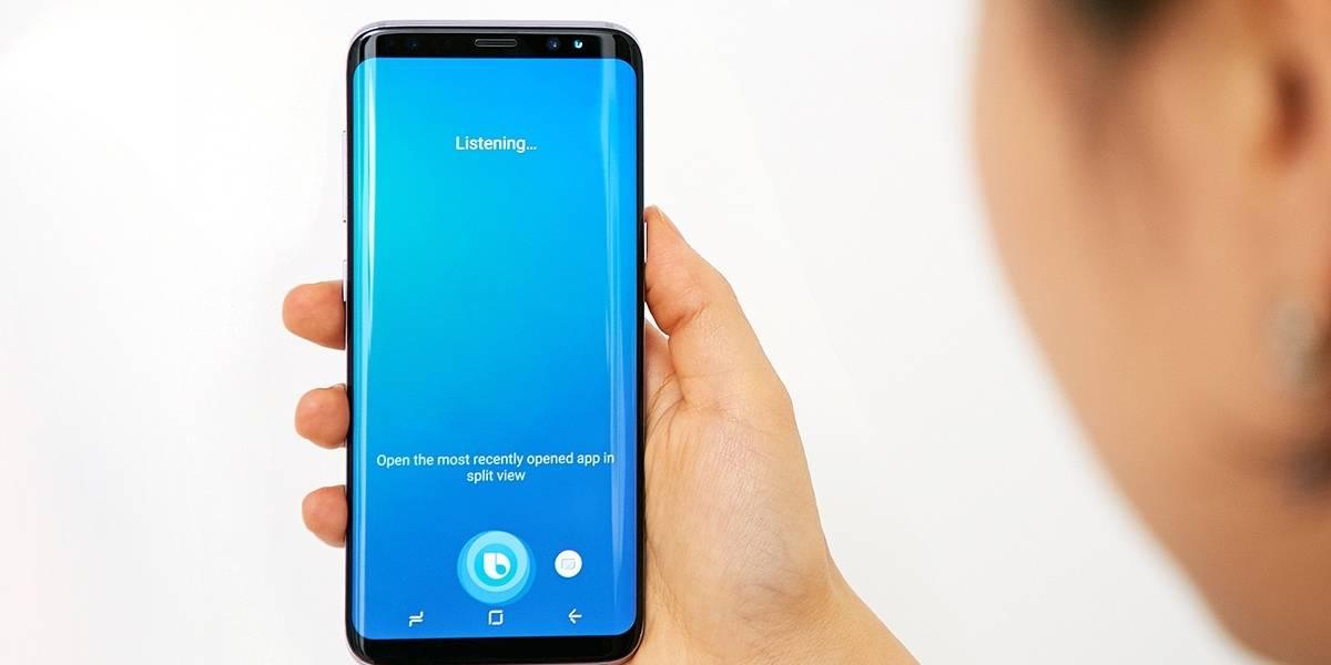 Ya puedes registrarte para usar Bixby con voz en tu Galaxy S8