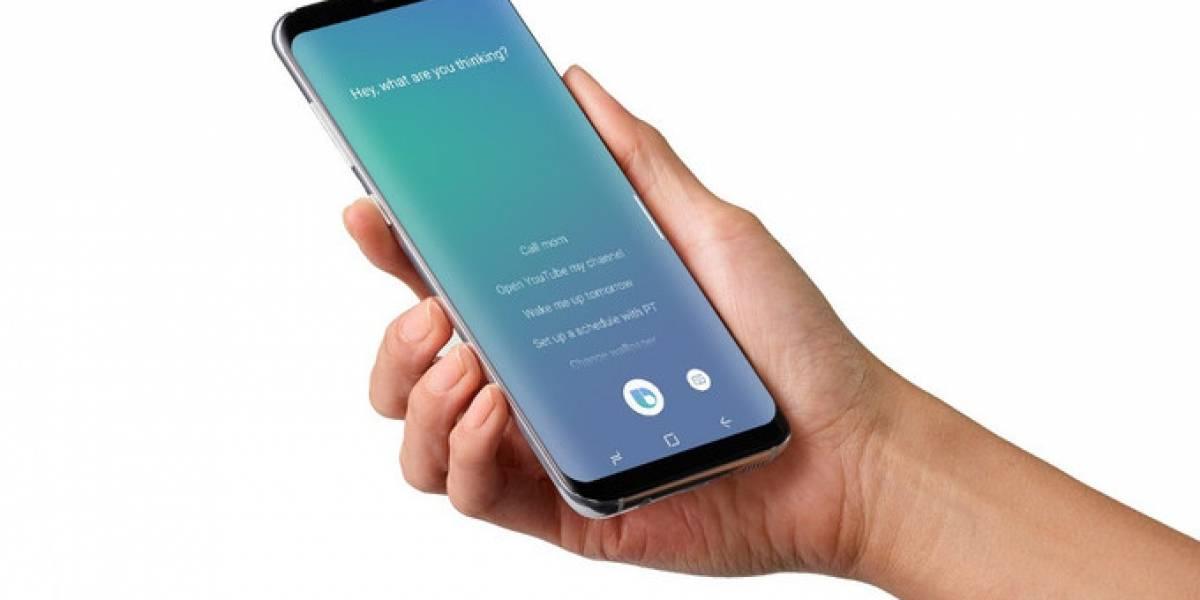 El control de voz de Bixby no estará disponible para el lanzamiento del Galaxy S8