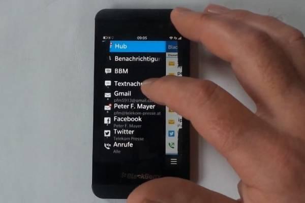 La nueva apuesta de RIM, BlackBerry Z10, aparece en detalle
