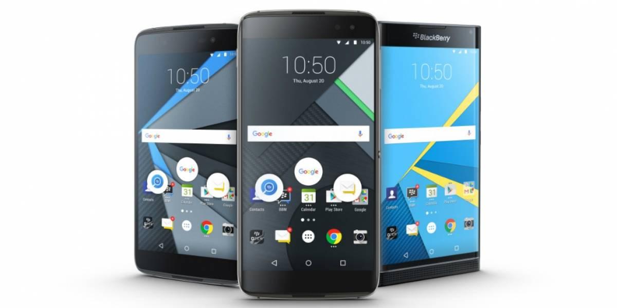 BlackBerry anuncia su nuevo gama alta DTEK60