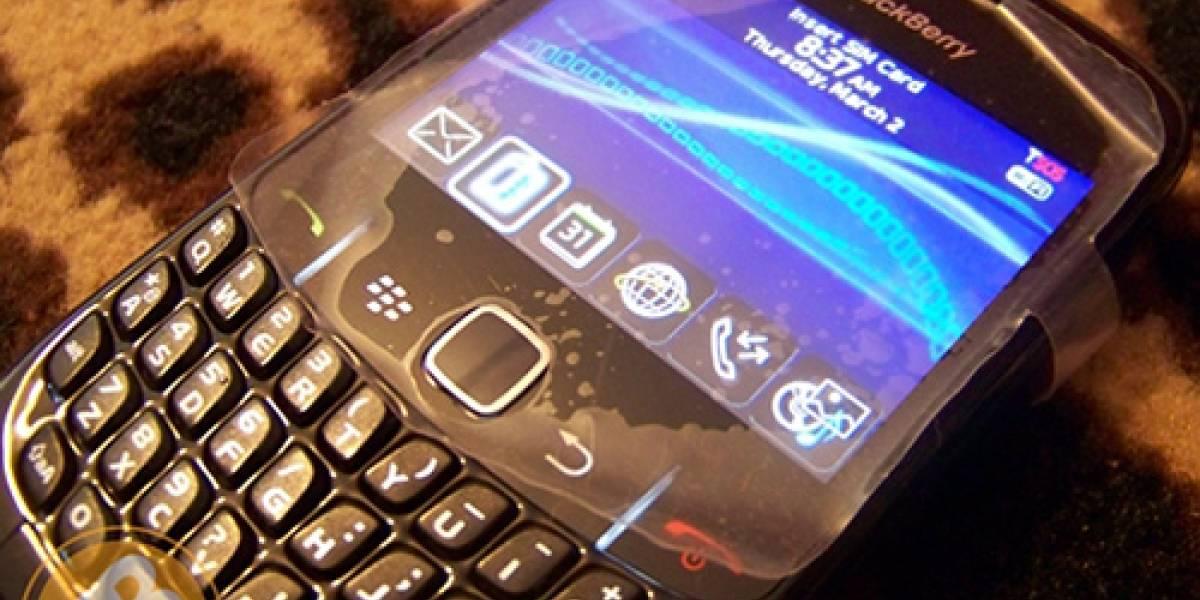 Fotos en vivo de la BlackBerry Curve 8520