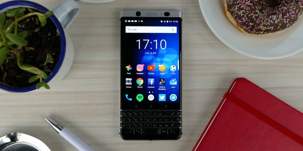 Review BlackBerry KEYone [W Labs]