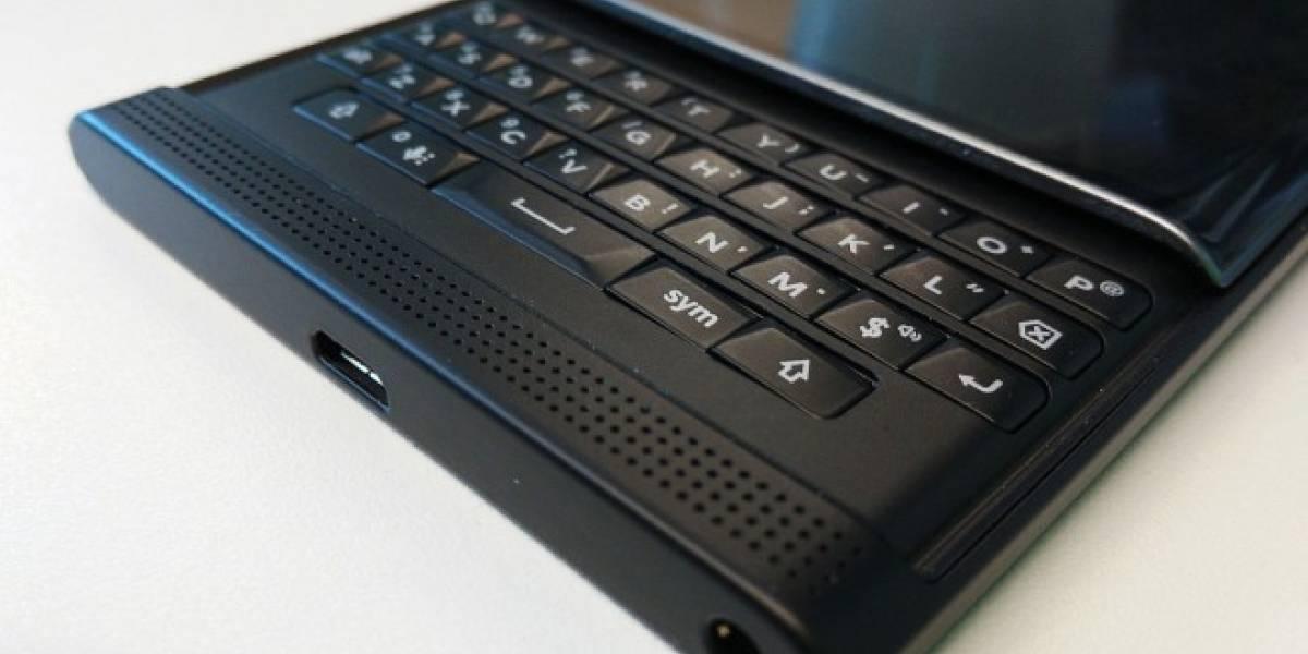BlackBerry no desaparecerá el teclado físico de sus futuros teléfonos
